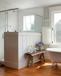 bathroom bench ideas bathrooms white bathroom with free standing bathtub near rustic