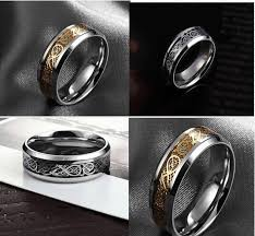 stainless steel mens rings mens rings stainless steel vintage titanium stainless steel mens