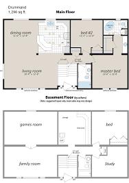 basement plans for modular homes basement decoration