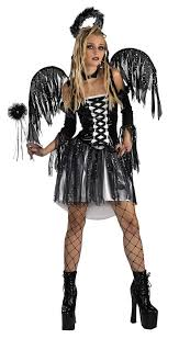 Kids Angel Halloween Costume Womens Dark Fallen Angel Costume Costumes