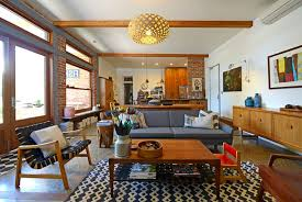 Living Room Design Brick Wall Vintage Living Room Decorating Ideas With Brick Wall Decor And