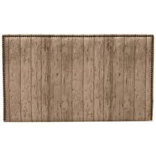 wood plank headboard wayfair