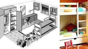 plan chambre 12m2 superbe comment amenager une chambre de 12m2 4 plan appartement