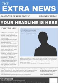 newspaper front page template for word best design template idea u0027s