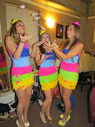 Candy Halloween Costumes Girls 32 Pinata Costumes Images Costume Ideas