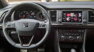 chrysler journey interior seat ateca 1 4 tsi xcellence 2016 review by car magazine