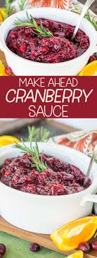 the best cranberry sauce easy and make ahead major