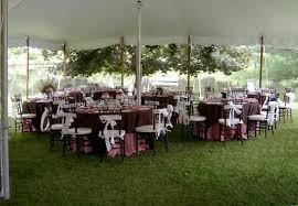 backyard tent wedding reception backyard