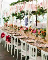a colorfully whimsical wedding at a texas zoo martha stewart