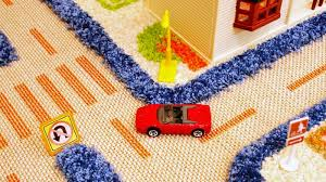 3d carpet playmats keep wheels cars safely on the road