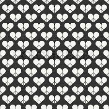 heart wrapping paper geometric line seamless pattern with hearts wrapping