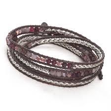 silver woven bracelet images Woven wrap bracelet berry silver silver bracelets silver by mail jpg