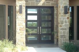 Wood Exterior Front Doors by Home Design Modern Wood Door Gallery The Front Company Within 89