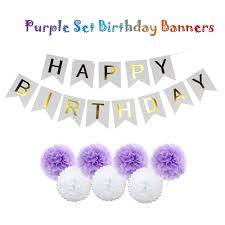 online get cheap purple baby shower decorations aliexpress com
