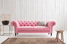 Sofa Chesterfield Pink Chesterfield Sofa I Want It Pink