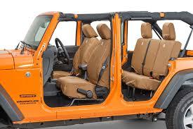 jeep wrangler 4 door orange covercraft carhartt rear seatsaver seat protector for 07 18 jeep