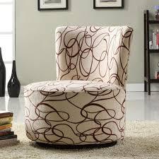Swivel Upholstered Chairs Living Room Delectable Upholstered Armchairs Living Room Furniture With