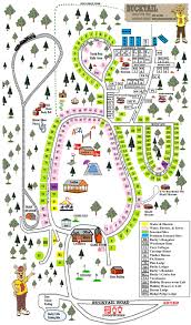 sitemap bucktail camping resort