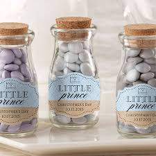 jar favors personalized prince milk bottle favor jars set of 12