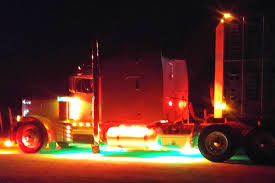 led lights for semi trucks semi truck led light kit