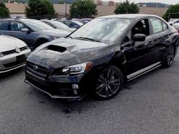 sti subaru 2016 black optional 18 black sti alloy wheels part of the 2016 wrx sport