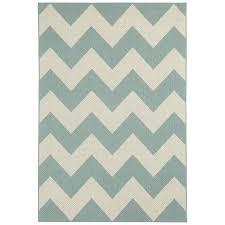 decorating zigzag chevron area rug with blue green indoor outdoor
