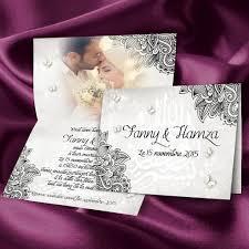 faire part mariage avec photo fuschia et or avec des papillons pour un faire part de mariage