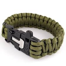 whistle buckle paracord bracelet images Outdoor camping men paracord bracelet rescue parachute cord jpg