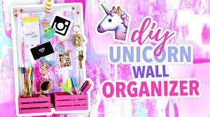 Diy Cute Room Decor Diy Unicorn Wall Organizer Cute Room Decor Karenkavett