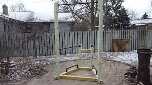 how to build a simple backyard bodyweight gym youtube