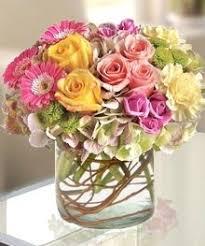 florist atlanta floral flower arrangement hydrangea gerbera daisies