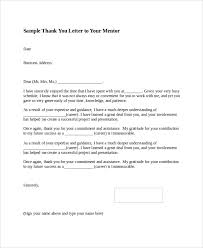 sle thank you letter format 8 exles in word pdf