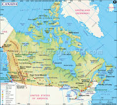 Churchill Canada Map by Physical Map Of Canada U2013 Ezilon Maps In Map Canada Foto Nakal Co