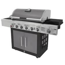 home depot black friday bbq brinkmann 6 burner dual fuel gas grill 810 6680 s the home depot