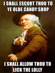 Old Lady Wat Meme - i ll take you to the candy shop joseph ducreux meme wat