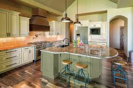 Olive Green Kitchen Cabinets Kitchen Design Ideas In 5 Shades Of Green Home Remodeling