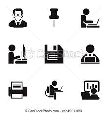 icon bureau set of 9 editable bureau icons includes symbols such as clipart