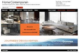 magasin de canapé magasins de meubles home contemporain nouveaux