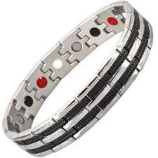 bracelet magnetic stainless steel images Mens stainless steel magnetic bracelet magnetic therapy bracelet 4 jpg