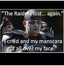 Raiders Suck Meme - for all you delusional raiders fans haha raiders suck sports