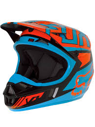 motocross fox clothing fox black orange 2017 v1 falcon kids mx helmet fox