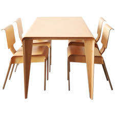 Furniture Companies by Marcel Breuer Plywood Dining Set For Isokon Furniture Company