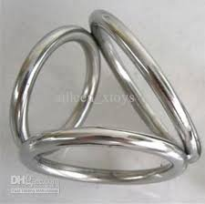 metal ball rings images Triple cock and ball ring metal cock ring cock ring male chastity jpg