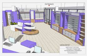 sketchup texture how to design a modern pharmacy u0026 3d sketchup