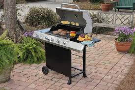 Backyard Grill 4 Burner Gas Grill by Char Broil Classic 40 000 Btu 4 Burner Gas Grill With Side Burner