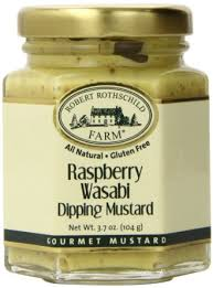 wasabi mustard buy robert rothschild raspberry wasabi dipping mustard in cheap