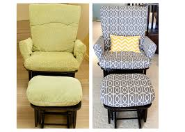 Recovering Patio Chair Cushions by Cushions Replacement Cushions For Nursery Glider Rocker Rocking