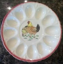 white deviled egg plate egg plate i ve seen the plain white ones at discount stores