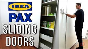 ikea kitchen cabinet sliding doors ikea pax wardrobe sliding doors assembly big kitchen cabinet pantry