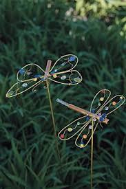 diy garden trinkets garden dragonflies and gardens